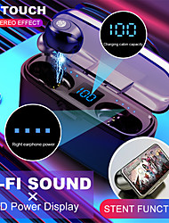cheap -Wireless Bluetooth Earphone  V5.0 F9-8 TWS Wireless Bluetooth Headphone LED Display 2000mAh Charging Box Headsets With CVC8.0 Noise Reduction Microphone