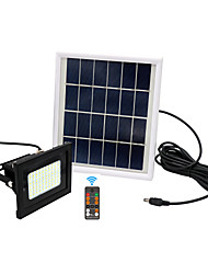 Недорогие -1шт 10 Вт светодиодный прожектор / газон / светодиодный уличный свет водонепроницаемый / солнечный / свет управления теплый белый / холодный белый 3.7 В наружное освещение / двор / сад 54 светодиодные
