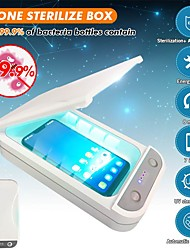 cheap -Office Use 5V UV Light Phone Sterilizer Box Jewelry Phones Cleaner Personal Sanitizer Disinfection Cabinet with Aromatherapy Esterilizador