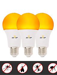Недорогие -EXUP® 3шт 6 W Круглые LED лампы 500 lm E26 / E27 A60(A19) 14 Светодиодные бусины SMD 2835 Творчество Новый дизайн Для вечеринок Желтый 220-240 V