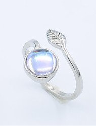cheap -Ring Silver Alloy Elegant Holiday European 1 Piece Adjustable / Women's
