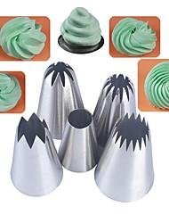 Недорогие -5шт формы для выпечки из нержавеющей стали выпечка, кондитерские инструменты торт
