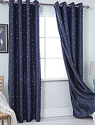 cheap -Gyrohome 1PC GYC2011 Stars Shading High Blackout Curtain Drape Window Home Balcony Dec Children Door *Customizable* Living Room Bedroom Dining Room