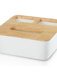 cheap -Kitchen solid wood tissue box multi functional tissue paper storage box with multi drawers multi usage