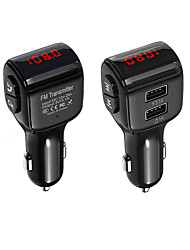 cheap -Bluetooth 5.0 FM Transmitter / Bluetooth Car Kit Car Handsfree QC 3.0 / Car MP3 FM Modulator / FM Transmitters Car
