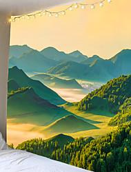 Недорогие -красивый живописный 3d пейзаж печатных одеяло гобелен гобелен декор для дома большой размер 2 заказов