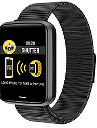 cheap -H19 Unisex Smart Wristbands Bluetooth Waterproof Touch Screen Heart Rate Monitor Blood Pressure Measurement Calories Burned Stopwatch Pedometer Call Reminder Sleep Tracker Sedentary Reminder