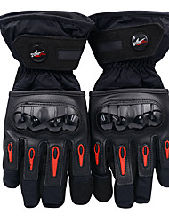 cheap -Full Finger Motorcycle Riding Waterproof Protective Cotton Gloves Anti-fall and Anti-shock Black No Need to Take off in Use (L / XL / XXL)