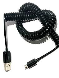 Недорогие -выдвижной 5pin кабель для передачи данных весной для мобильного телефона Android