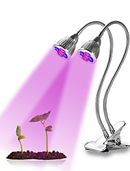 cheap -BRELONG® Grow Light LED Plant Growing Light 10 W 300 lm 10 LED Beads For Greenhouse Hydroponic LED Grow Lights Purple 85-265 V Vegetable Greenhouse