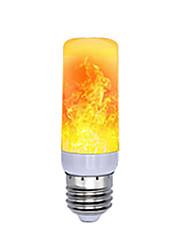 cheap -1pc LED Flame Effect Fire Light Bulbs Full Model 5W E27 Flame Bulb 78leds 85-265V Flickering Halloween Christmas Home Decration