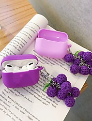 cheap -AirPods Pro Case Fruit pendant Silicone Soft  Lovely Pattern  Portable For AirPods1 &amp AirPods2 (AirPods Charging Case Not Included)