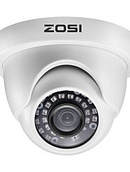 cheap -ZOSI H.265 3.6mm 1080P TVI Indoor & Outdoor Dome CCTV Camera Security Surveillance Waterproof AHD CVI TVI CVBS Analog System Infrared Night Vision