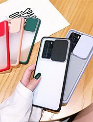 cheap -Case For Huawei HUAWEI P40 / HUAWEI P40 PRO Shockproof Back Cover Transparent TPU / Plastic