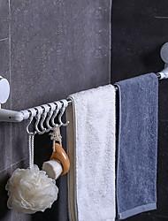 cheap -43-73cm Retractable Towel Rack Adjustable Hook Rack Double Suction Cup Towel Rack Hanging Shelves Hook Holder Lock Type Sucker Kitchen Bathroom Accessories