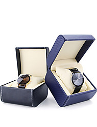 cheap -Watch Display Stand Watch Boxes Leather 8.5 cm 11 cm