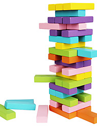 cheap -Stacking Game Educational Toy Stacking Tumbling Tower Professional Classic Fun Kids Kid's Adults' Boys' Girls' Toys Gifts