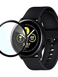 Недорогие -5 шт. / Samsung galaxy watch active2 пэт горячий изгиб 3 d поверхности полный экран защитная пленка часы 40 мм 44 мм