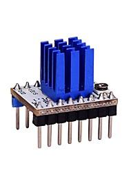 Недорогие -Драйвер шагового двигателя tmc2208 v1.0 с комплектом радиатора для 3d принтера
