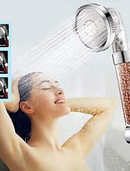 Недорогие -3 режима душа для душа, регулируемая гидромассажная насадка для душа, экономия воды под высоким давлением, анионный фильтр для душа, душевая насадка для спа