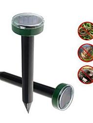 cheap -Mole Rat Repellent Solar Ultrasonic Repeller Spike Garden Pest Deterrent