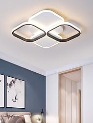 cheap -4-Light 50 cm Cluster Design Flush Mount Lights Painted Finishes LED Modern 110-120V 220-240V