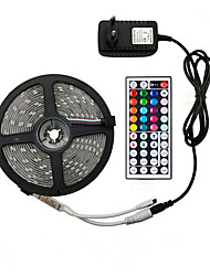 cheap -5m Flexible LED light strips RGB Tiktok Lights 150 LEDs SMD5050 10mm 1 12V 6A Adapter 1 44Keys Remote Controller 1 set RGB Tiktok Lights Halloween Christmas Waterproof Party Decorative 220 V