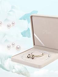 Недорогие -Квадратный Упаковка ювелирных изделий - Розовый 7.5 cm 7.5 cm 3.5 cm / Жен.