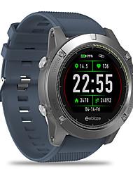 Недорогие -Zeblaze VIBE3 HR Универсальные Смарт Часы Android iOS Bluetooth Водонепроницаемый Пульсомер Медобеспечение ЭКГ + PPG Педометр Датчик для отслеживания сна Температурный дисплей