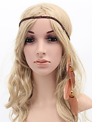 cheap -Fabric Headbands Durag Adjustable For Party Evening Holiday Bohemian Style Headband Beige Coffee 1 Piece / Women's