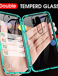 cheap -360 Double Side Magnetic Flip Tempered Glass Phone Case For Xiaomi Redmi Note 8 Pro Mi 10 Pro Mi CC9 Pro Mi 9T Pro Mi 9 SE Mi Note 10 Pro Mi CC9e Full Body Anti-Explosion Protective