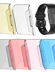 Недорогие -для зарядки fitbit 3 замена пк защитный чехол чехол прозрачный