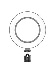 cheap -LED Selfie Stick Ring Charging Fill Light USB Dimmable Phone Ring Light with Tripod