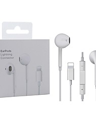 cheap -Lighting Earphone With Microphone Wired Stereo Earphones For Apple Iphone 8 7 Plus X XS MAX XR iPod Wired Earphone Lightning