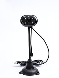 Недорогие -litbest cz0004 веб-камера usb 2.0 с микрофоном 300 мегапикселей мегапикселей hd 4 светодиода без привода веб-камера компьютерная видеоконференцсвязь сетевая обучающая камера