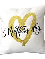 Недорогие -на день матери тема печатных хлопка и льна наволочки домашний диван подушки автомобильные подушки