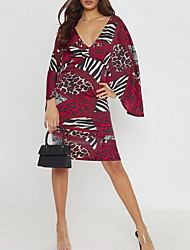 Недорогие -женское элегантное цветочное платье