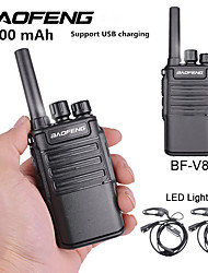 cheap -2PCS Baofeng BF-V8 5800 mAh Rechargeable Long Range 5W Two Way Radio Walkie Talkies 16 Channel Handheld Radio Built in LED Torch Microphone With Earpiece