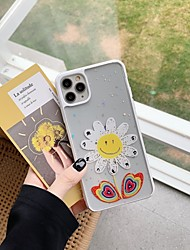 cheap -Case For Apple iPhone 11 / iPhone 11 Pro / iPhone 11 Pro Max Shockproof Back Cover Flower PC