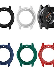 cheap -Cases For Samsung Galaxy Gear S3 Frontier / Samsung Galaxy Watch 46mm Silicone Screen Protector Smart Watch Case Compatibility