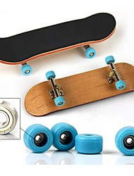 cheap -1 pcs Finger skateboards Wooden with Replacement Wheels and Tools Party Favors  for Kid's Gifts / Metal