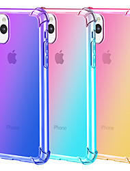cheap -Gradient color mobile phone case for iPhone11 Pro Max iPhone XR XS Max X 7 7 6 6S Plus transparent ultra-thin TPU protective case