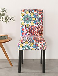 cheap -Chair Cover Romantic / Multi Color / Scenery Printed Polyester Slipcovers