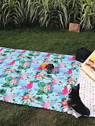 Недорогие -Пикник Одеяло На открытом воздухе На каждый день Безопасность Удобный Оксфорд 100*145 cm Отдых и Туризм Пикник Весна, осень, зима, лето Серый Желтый Синий