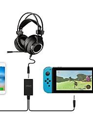 Недорогие -USB-концентратор Назначение Nintendo Переключатель ,  Cool USB-концентратор ABS 1 pcs Ед. изм