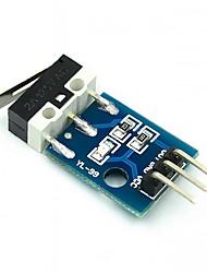 cheap -Collision Switch Sensor Module Car Helicopter Crash Collision Sensor Impact Switch Module Robot Model for Arduino