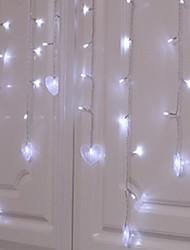 Недорогие -1,5 м Гирлянды 48 светодиоды Тёплый белый USB / Для вечеринок / Декоративная Работает от USB