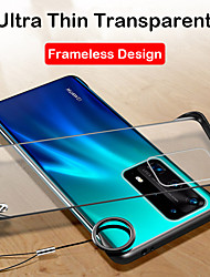 cheap -Ultra Thin Frameless Clear Hard Ring Case Cover For Huawei P40 Pro P30 Lite P20 Lite P30 Pro P20 Pro