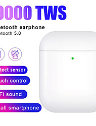 Недорогие -Z-YeuY i9000 TWS True Беспроводные наушники Беспроводное Bluetooth 5.0 Стерео С зарядным устройством Автоматическое обнаружение уха Переименование GPS Find My Devices (iOS) Реплика 1: 1