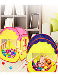 cheap -Play Tent & Tunnel Ball Pool Playhouse Tent House Foldable Convenient Polyester Indoor Outdoor Spring Summer Fall Pop Up Indoor/Outdoor Playhouse for Boys and Girls / Kid's